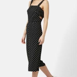 Topshop Size 8 Daisy Print Jumpsuit